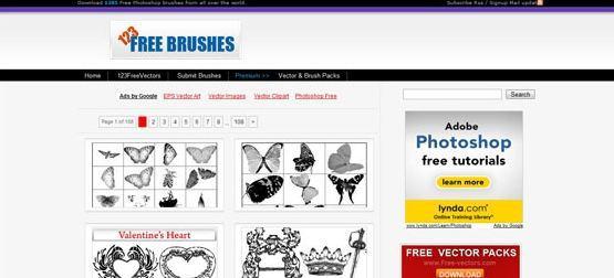 123FreeBrushes