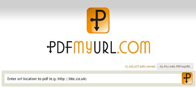 conversione sito in PDF