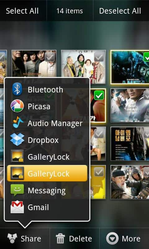 proteggere android foto password