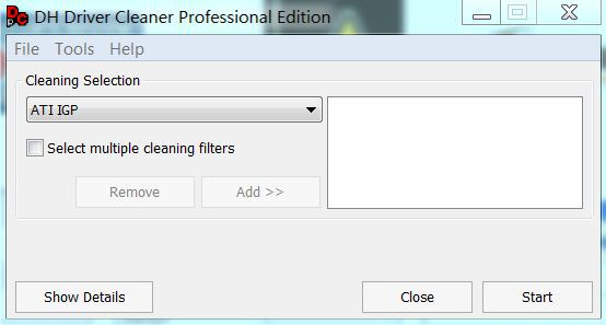 driver cleaner