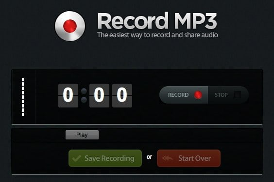 registrare mp3 online