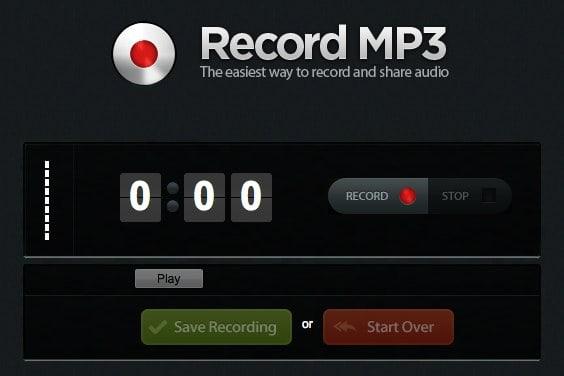 registrare mp3 online