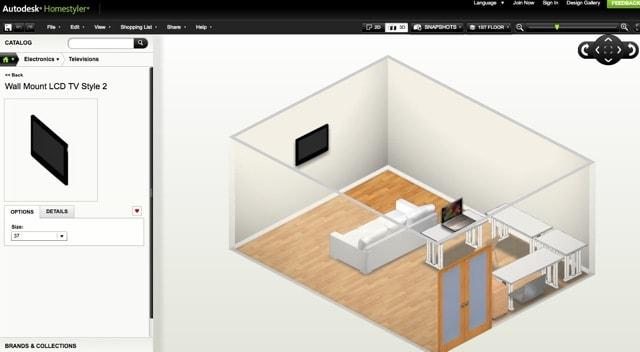 Autodesk homestyler il miglior programma gratuito per for Programma per progettare stanze