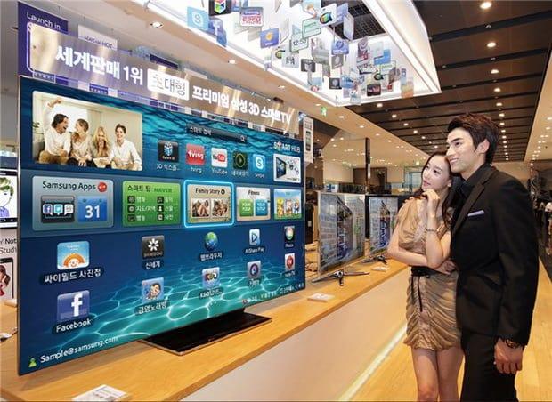 Samsung es9000 nuova tv 3d led 75 pollici guide informatica for Tv 75 pollici prezzo