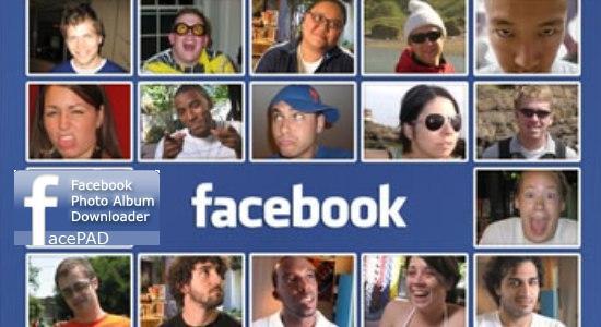 salvare album facebook in un click
