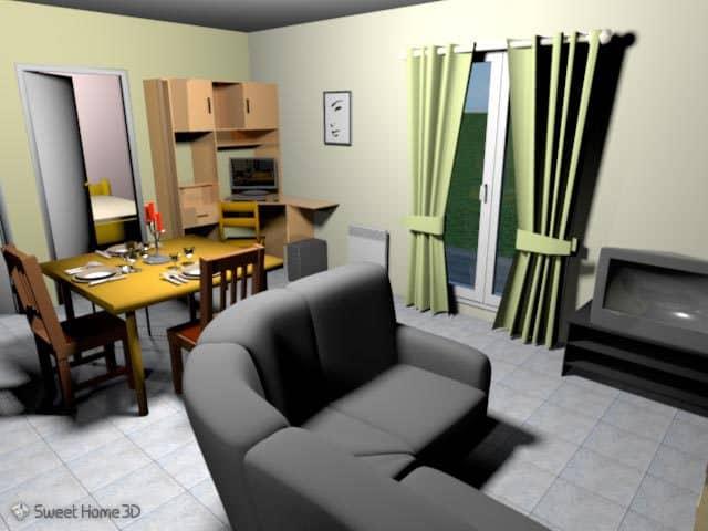 Programma gratuito 3d per arredare interni di una casa for 3d interni