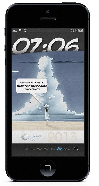 lockscreen iphone 5