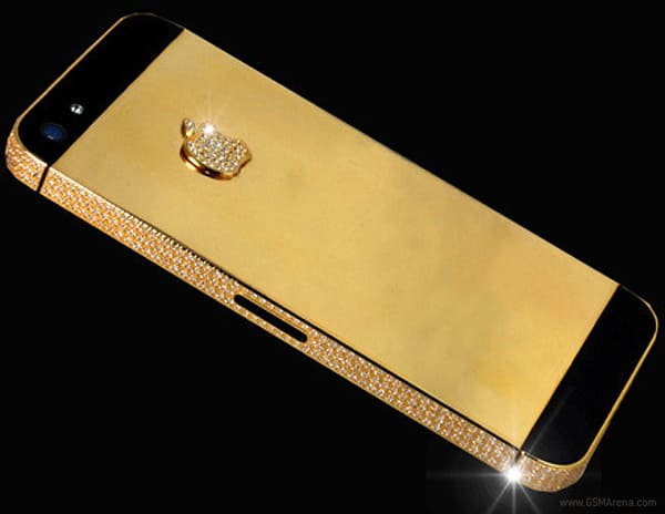 iphone 5 d'oro