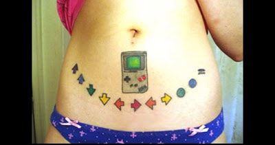 tatuaggio nintendo