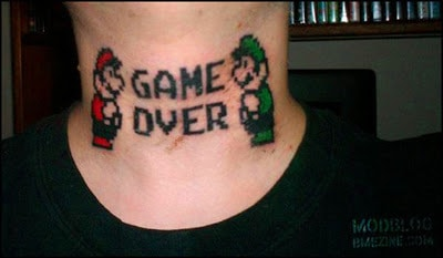 tatto mario bros