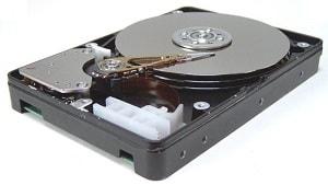 hard disk RAW