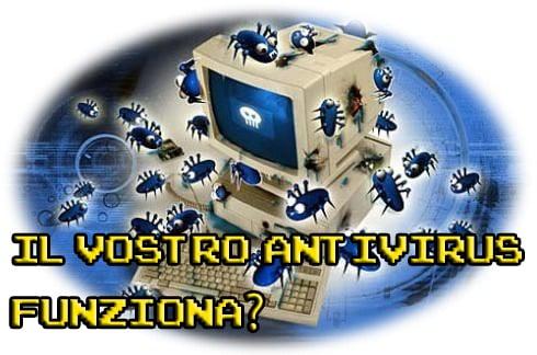 Antivirus funziona