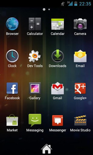 launcher fluido android