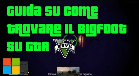 GTA V Segreti - Trovare il BigFoot