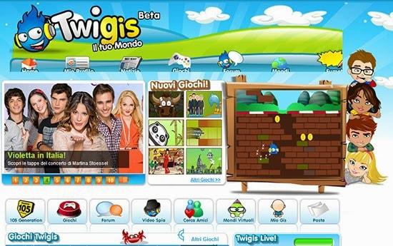 Il social network per i più piccini - Twigis.com