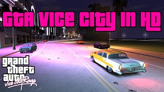 GTA Vice City con la grafica di GTA IV