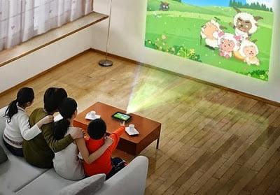 connessione tablet al proiettore