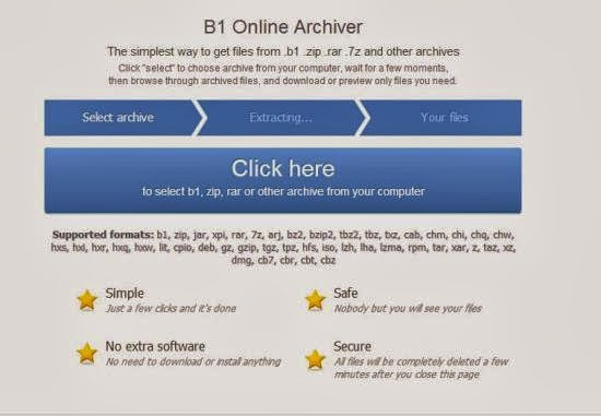 b1 file zipper online