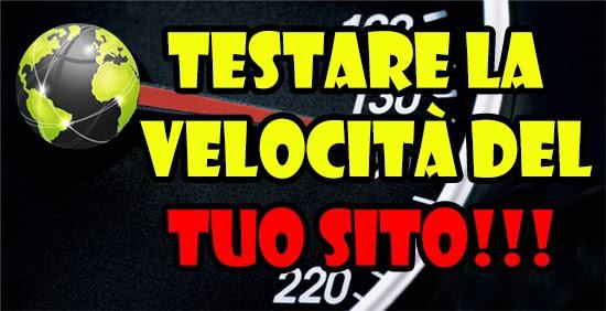 Testare la velocità del TUO SITO - WebPagetest