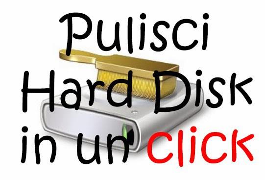 Pulire Hard Disk con un CLICK