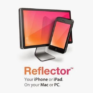 Reflector registrare ipad iphone schermo
