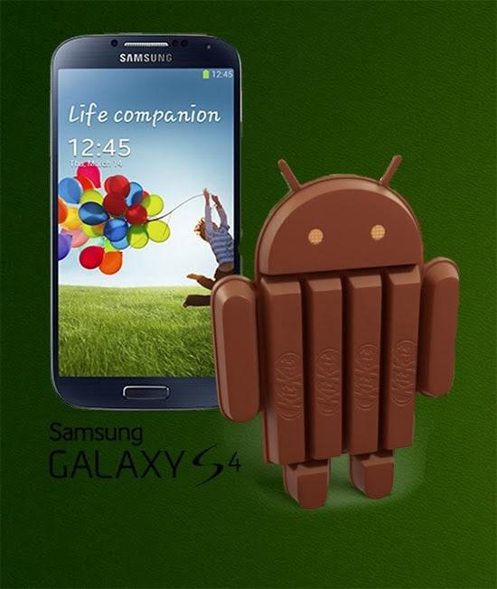 Android KitKat 4.2.2 su Samsung Galaxy S4