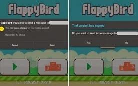 Pericolo Virus Flappy Bird - Attenzione