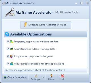 mz game accelerator