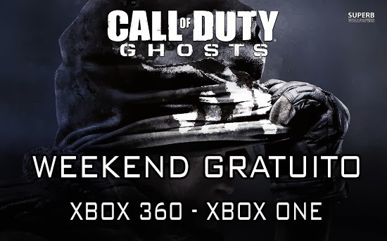 Call Of Duty Ghost - Weekend GRATUITO XBOX LIVE