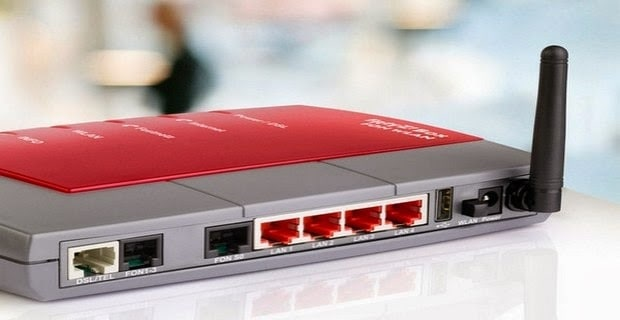 router adsl luce si spegne