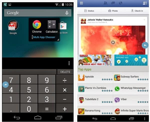 installare split screen android