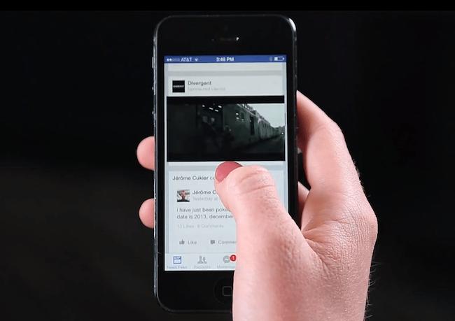 disabilitare autoplay video facebook