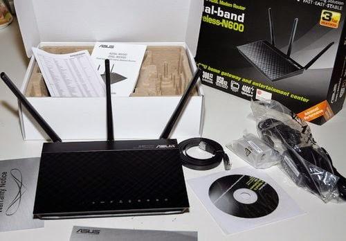 ASUS N55U router gaming