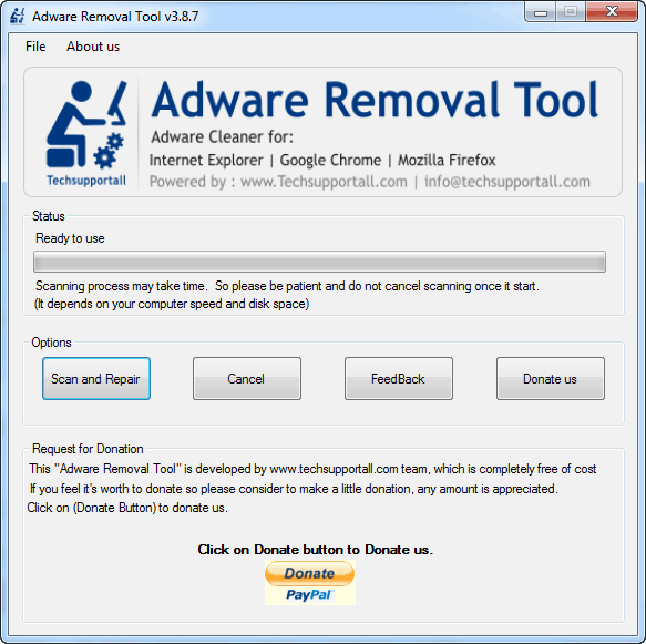 adware removal toolbar