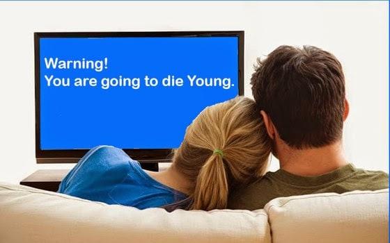 guardare troppa tv uccide