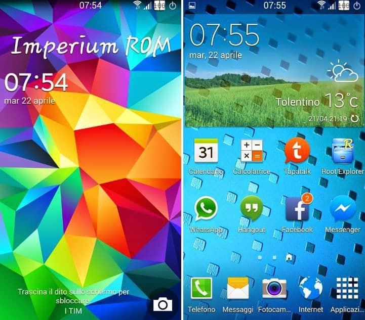 rom s5 per Galaxy S4 S3