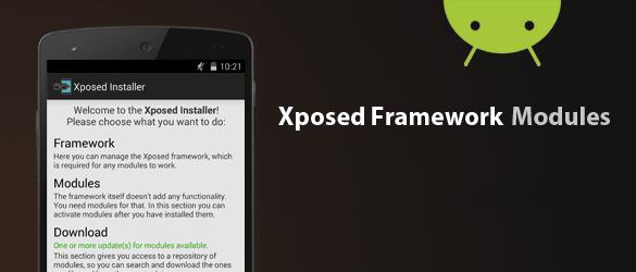 moduli android exposed utili