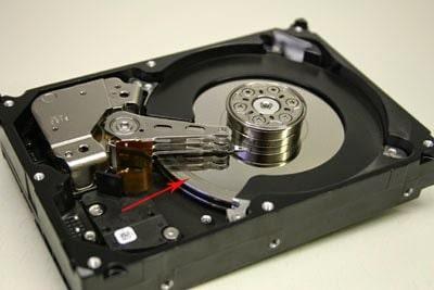 posizione hard-disk pc