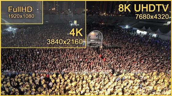 8k resolution