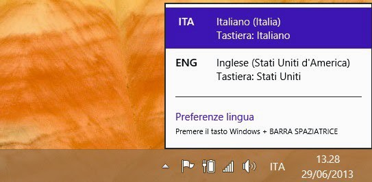 cambio lingua windows 8.1