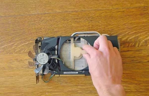 modifica ventola rumorosa scheda video