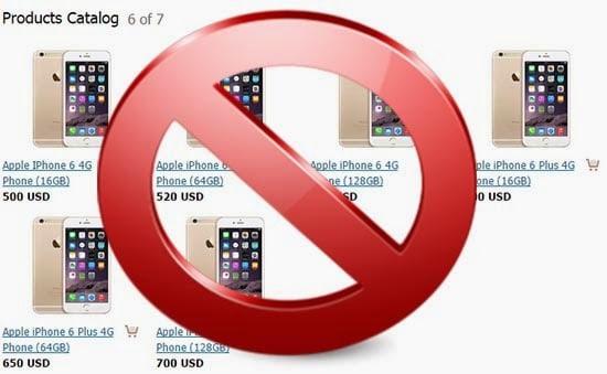 iphone 6 , galaxy s6 truffa