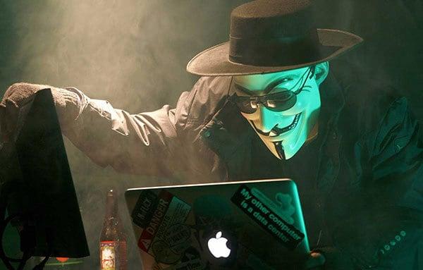 hacker furto