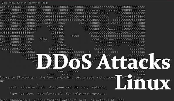 attacchi ddos linux