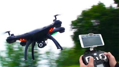 drone con camera