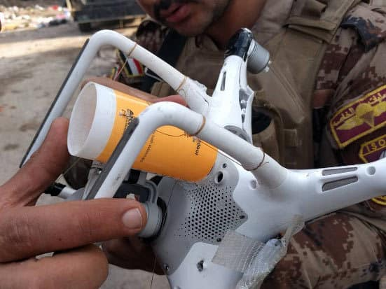 drone bomba isis