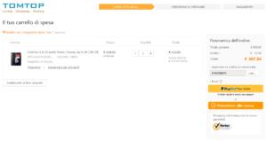 OnePlus 6 offerta TomTop