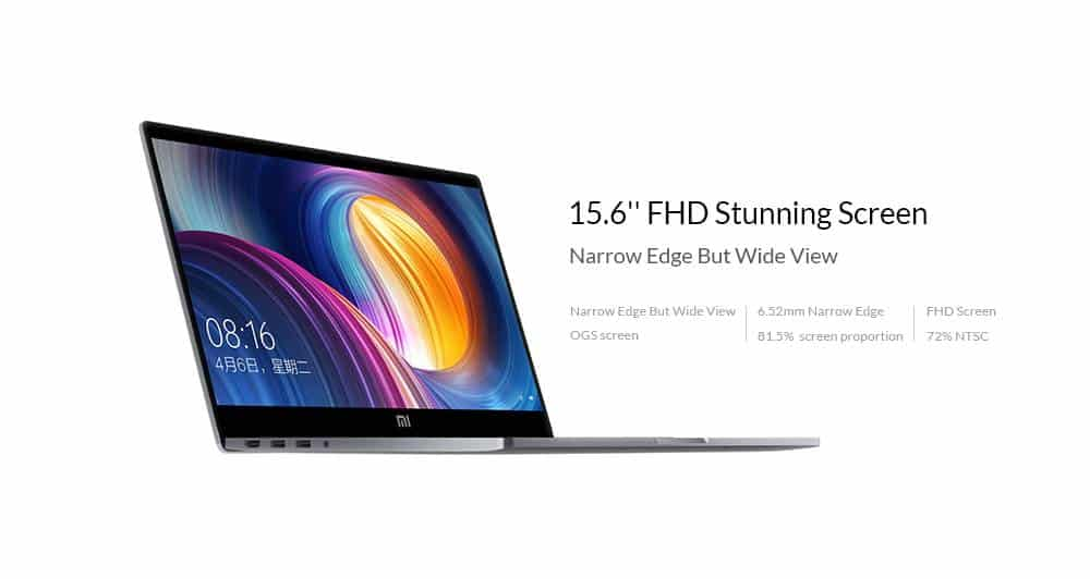 Xiaomi Mi Notebook Pro offerta LightInTheBox