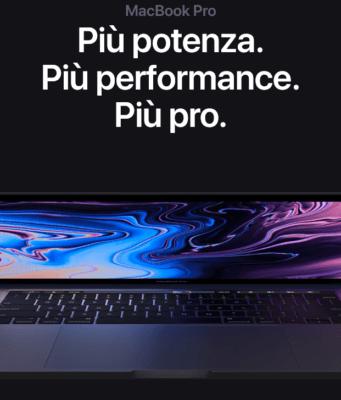 MacBook Pro TouchBar nuova generazione