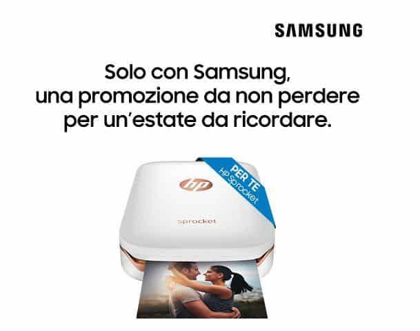 Samsung vincere stampante HP Sprocket